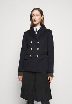 Victoria Beckham - DOUBLE BREASTED PEA COAT - Blazer - navy