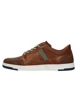 Manfield - Sneaker low - cognac/brown
