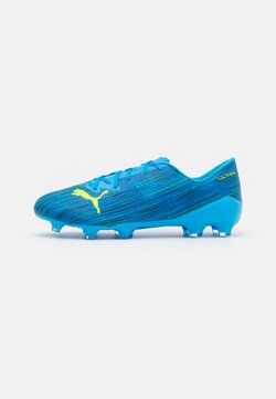 Puma - ULTRA 2.2 FG/AG - Moulded stud football boots - energy blue/yellow alert