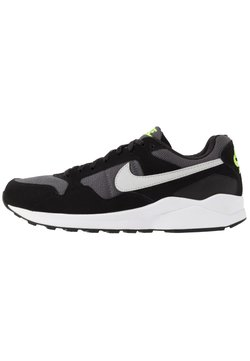 Nike Sportswear - AIR PEGASUS '92 LITE SE - Sneakers - black/pure platinum/grey/electric green/white