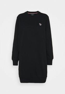 PS Paul Smith - ZEBRA DRESS - Freizeitkleid - black