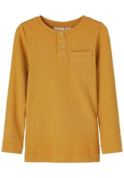 Name it - LONG SLEEVE - Neule - spruce yellow