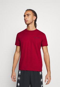Champion - LEGACY CREWNECK - T-shirt basic - dark red