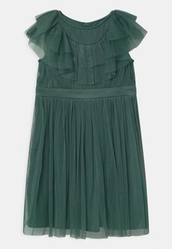 Anaya with love - RUFFLE BIB WITH BOW - Cocktailkleid/festliches Kleid - jade green