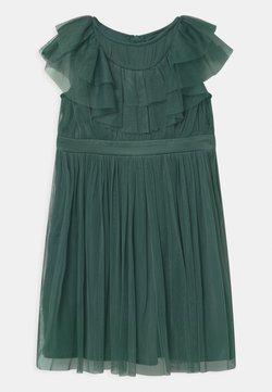 Anaya with love - RUFFLE BIB WITH BOW - Sukienka koktajlowa - jade green