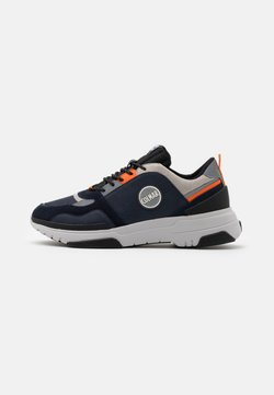 Colmar Originals - AYDEN BLADE - Sneaker low - navy/orange