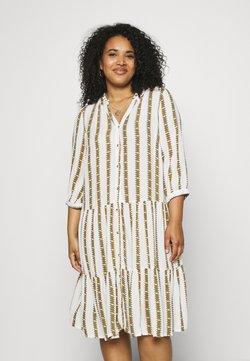 Zizzi - MAMIRA KNEE DRESS - Vardagsklänning - white