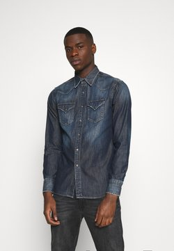 Replay - Camicia - dark blue denim