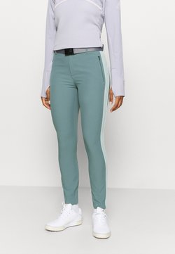 Under Armour - LINKS ANKLE PANT - Stoffhose - lichen blue