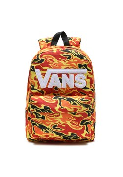 Vans - UY NEW SKOOL BACKPACK BOYS - Ryggsäck - orange