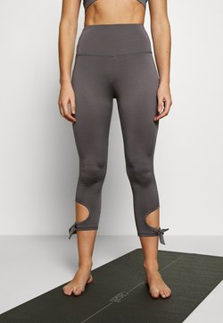 South Beach - CUT OUT LEGGING - Tights - smoky grey