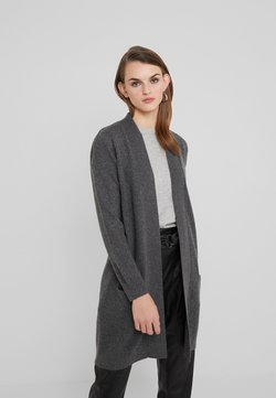 Davida Cashmere - POCKET LONG - Neuletakki - dark grey
