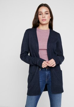 Vila - VIRIL - Strickjacke - total eclipse