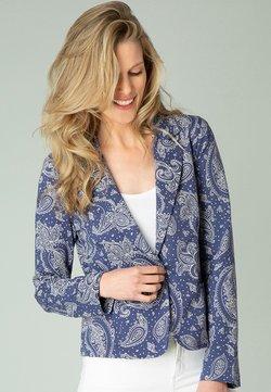 yesta - GWENDELYN - Blazer - marine blue/white