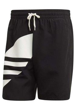 adidas Originals - BIG TREFOIL SWIM SHORTS - Badeshorts - black