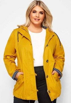Yours Clothing - Parka - yellow