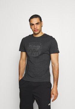Columbia - BLUFF MESA™ GRAPHIC TEE - T-Shirt print - black shield