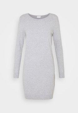 VILA PETITE - VIRIL DRESS - Robe pull - light grey melange