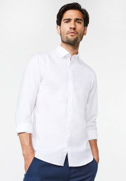 WE Fashion - SLIM FIT STRETCH - Hemd - white