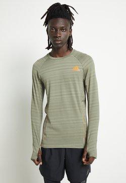 adidas Performance - RUNNER - Funktionsshirt - olive