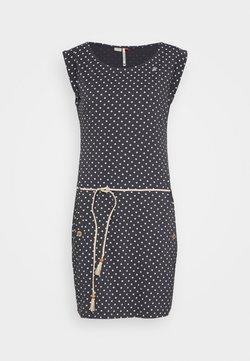 Ragwear - TAG DOTS - Jerseykleid - black
