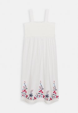 GAP - GIRL SMOCK - Jerseykleid - new off white