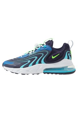 Nike Sportswear - AIR MAX 270 REACT ENG - Sneakers laag - blackened blue/green strike/pure platinum/team royal/blue fury/aura