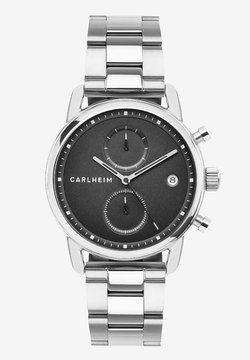 Carlheim - Rannekello ajanottotoiminnolla - silver/black