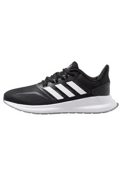 adidas Performance - RUNFALCON - Laufschuh Neutral - core black/footwear white/grey three