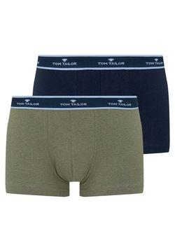 TOM TAILOR - 2 PACK - Shorty - green medium melange