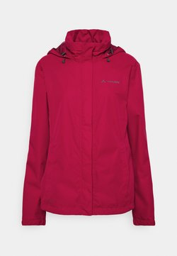 Vaude - WOMENS ESCAPE BIKE LIGHT JACKET - Regenjacke / wasserabweisende Jacke - crimson red