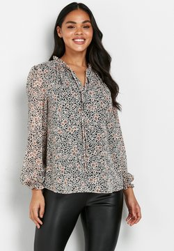 Wallis - ANIMAL AND FLORAL PRINT - Bluse - pink