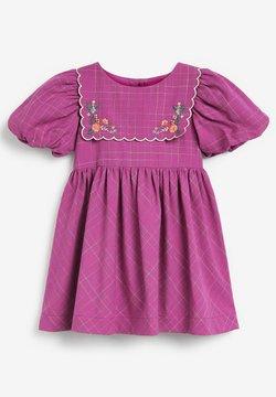 Next - EMBROIDERED - Vestido informal - purple