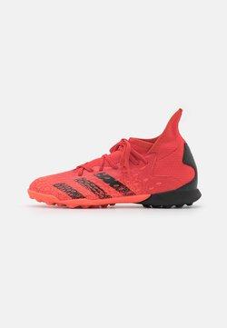 adidas Performance - PREDATOR FREAK .3 TF UNISEX - Botas de fútbol multitacos - red/core black/solar red