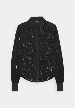 LIU JO - CAMICIA - Button-down blouse - nero