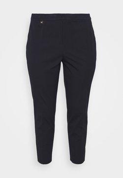 Lauren Ralph Lauren Woman - LYCETTE PANT - Spodnie materiałowe - navy