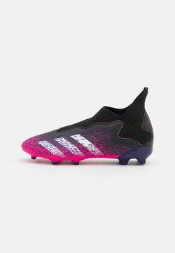 adidas Performance - PREDATOR FREAK .3 LL FG UNISEX - Botas de fútbol con tacos - core black/footwear white/shock pink