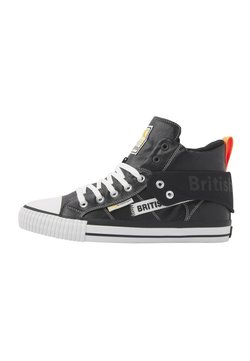 British Knights - ROCO TAG - Sneakers laag - black/neon orange
