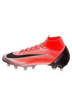 Nike Performance - MERCURIAL - Fußballschuh Nocken - flash crimson/total crimson/black