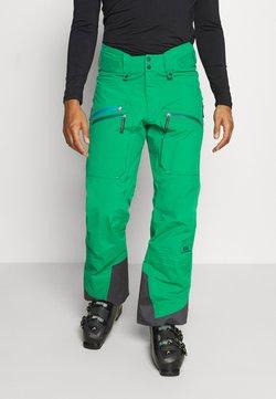 State of Elevenate - MEN'S BACKSIDE PANTS - Täckbyxor - green