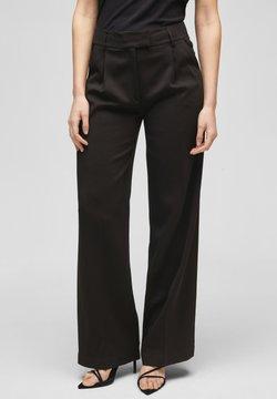 s.Oliver BLACK LABEL - Pantalon classique - true black