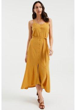 WE Fashion - Maxikleid - ochre yellow