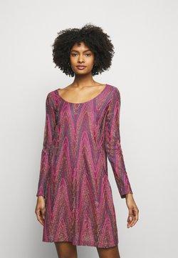 M Missoni - ABITO - Vestido de punto - purple