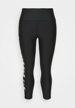 Under Armour - GRAPHIC ANKLE LEG - Tights - black