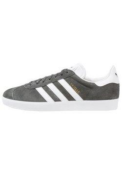 adidas Originals - GAZELLE - Sneaker low - dgsogr/white/goldmt
