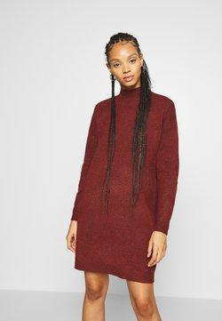 ONLY - ONLPRIME DRESS - Gebreide jurk - fired brick melange