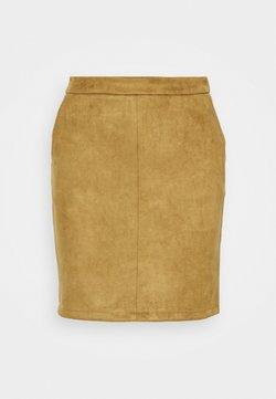 Vila - VIFADDY SKIRT - Pencil skirt - butternut