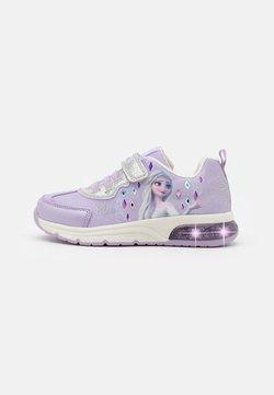 Geox - SPACECLUB GIRL DISNEY FROZEN - Sneaker low - lilac/silver