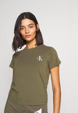 Calvin Klein Underwear - CK ONE LOUNGE CREW NECK - Nachtwäsche Shirt - muted pine