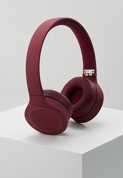 KYGO - ON EAR HEADPHONES - Hodetelefoner - burgundy